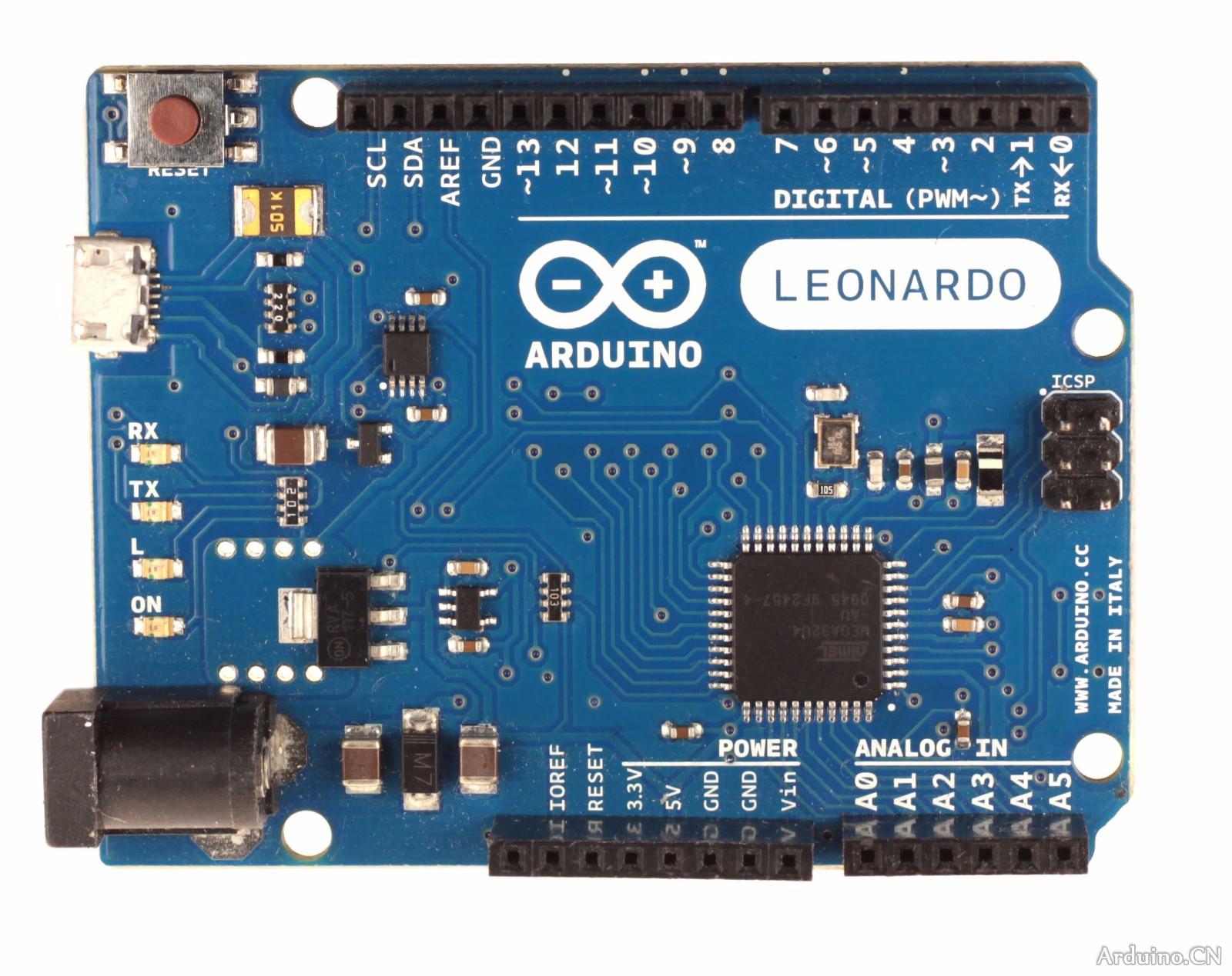 arduino leonardox1,led灯x4(红,绿,黄,白),hlk-rm04 wifi模块x1,人体