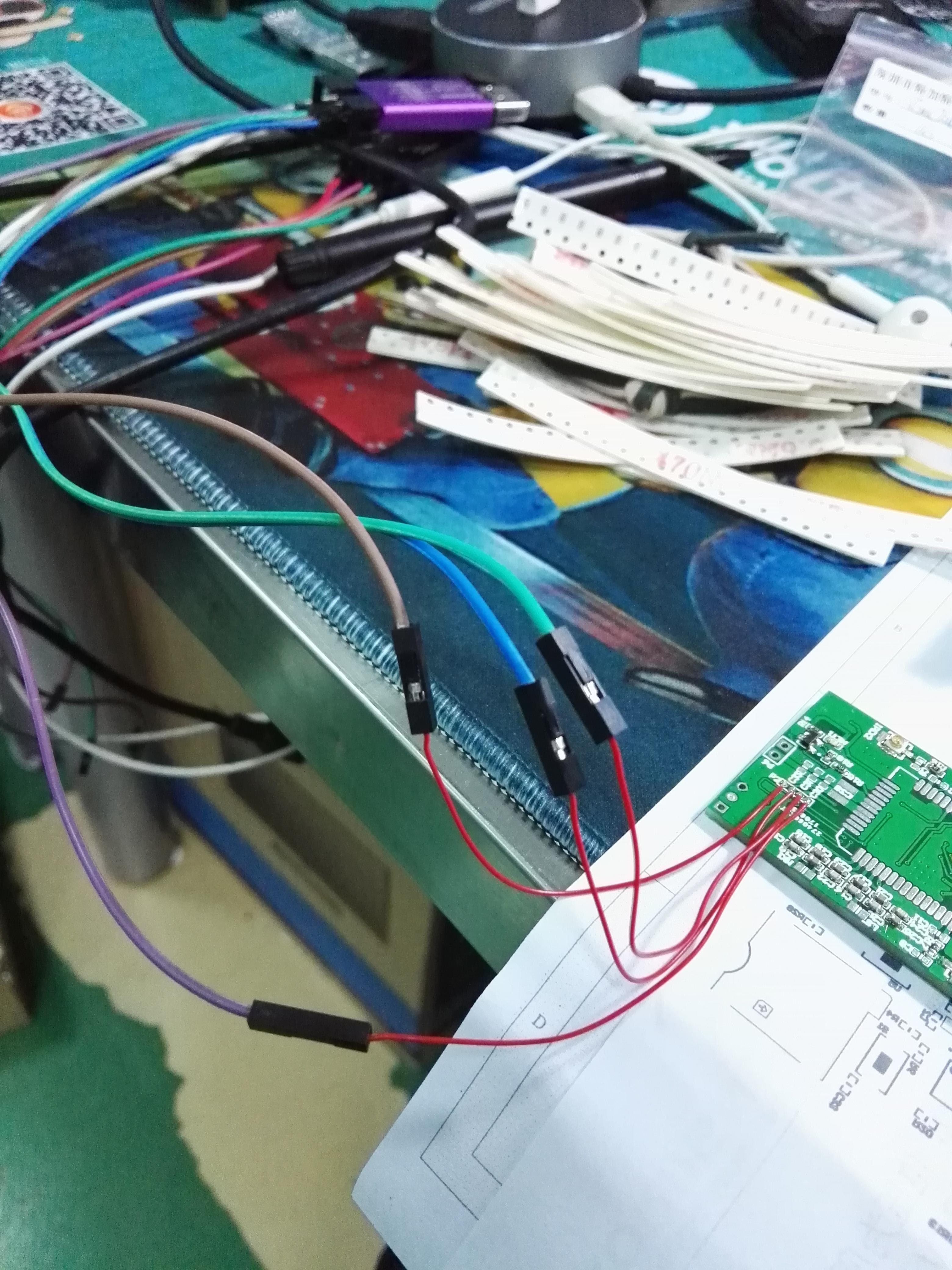 串口被占用了只好用ST-Link下载代码