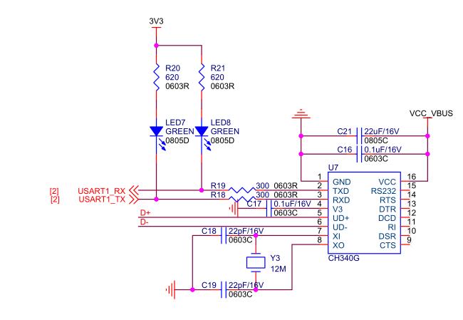但是对于复位的按键希望留下   2,板载ch340,但是只能作为串口调试口