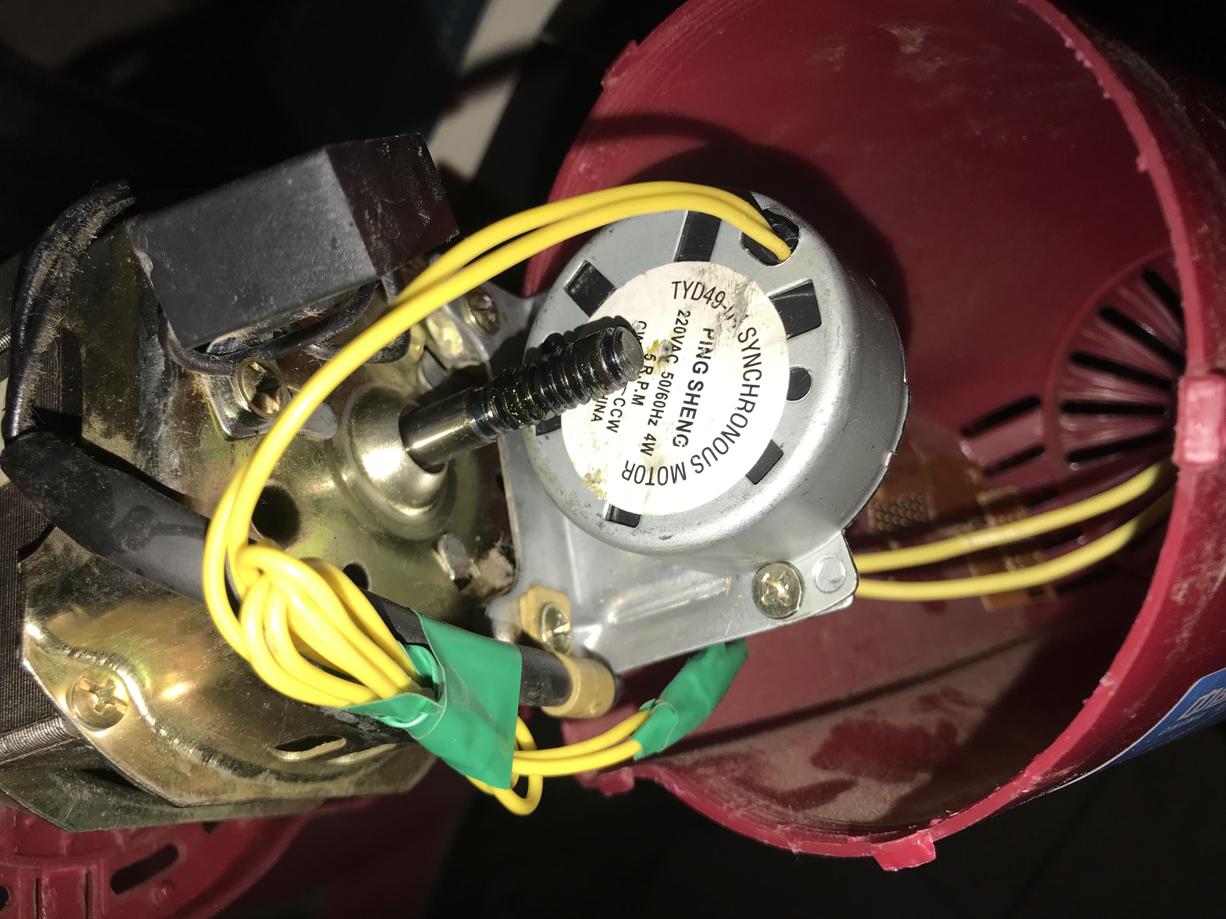 摇头电机组件,微动按键,led灯,继电器组,220v降5v降压模块,蜂鸣器等.